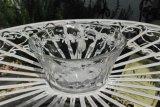 ローズ 手びねりガラス鉢